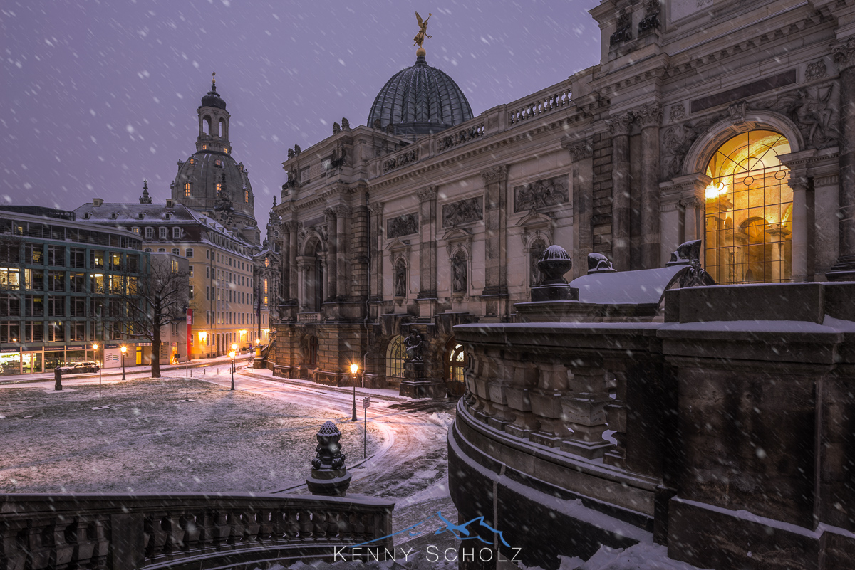 Winter in Dresden 2016